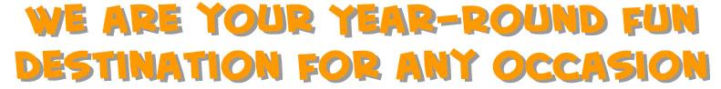 fun. year round, indoor, outdoor, group discounts,