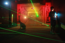 The Lost Tomb of Osiris, laser maze, lazer maze, indoor, fun, year round, lasers, northeast ohio, macedonia