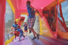 Inflatables, Bounce House, Jumping, Northeast Ohio, Outdoor, Fun, Summer, Spring
