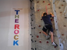 Rock climbing wall, Rockwall, the rock, notheast ohio, birthday parties,