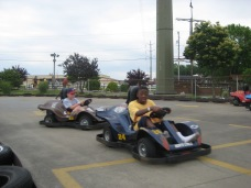 Rookie Go-Karts, Junior Track, Jr go-karts, driving, car, kids, outdoor fun,
